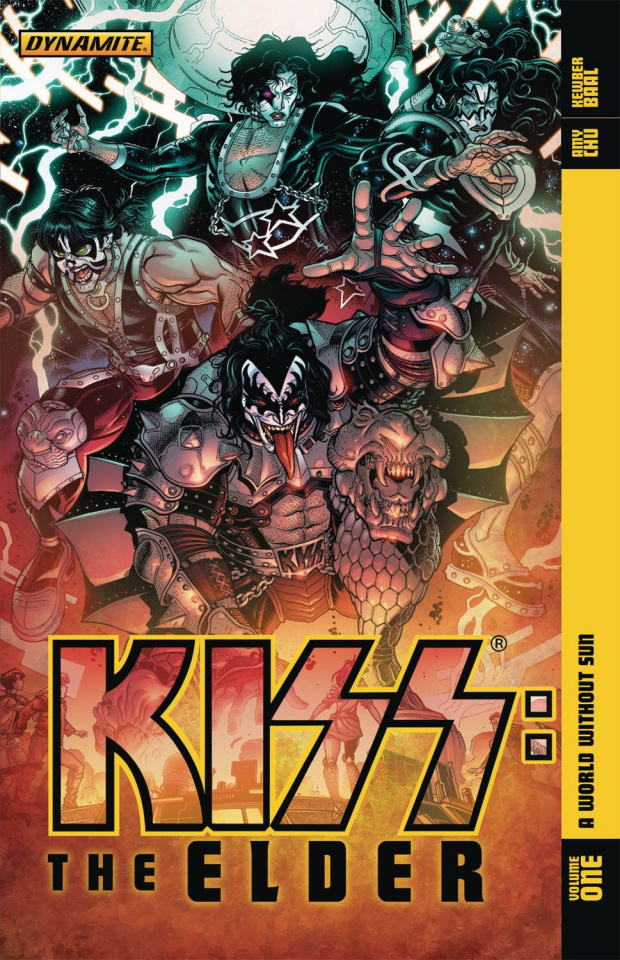 KISS: The Elder Vol. 1: A World Without Sun