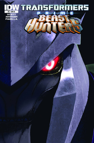Transformers Prime: Beast Hunters #4 (Subscription Cover)