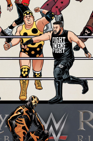 WWE #10 (Unlockable Royal Rumble Cover)