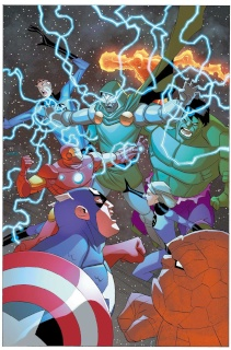 Marvel Universe Avengers: Earth's Mightiest Heroes #13