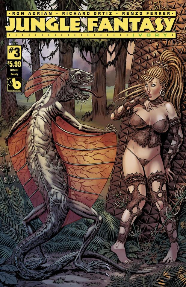 Jungle Fantasy: Ivory #3 (Natural Beauty Cover)