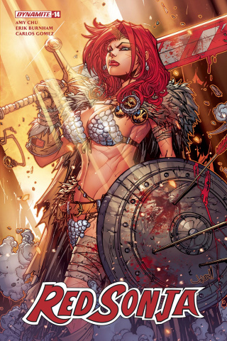Red Sonja #14 (Meyers Cover)