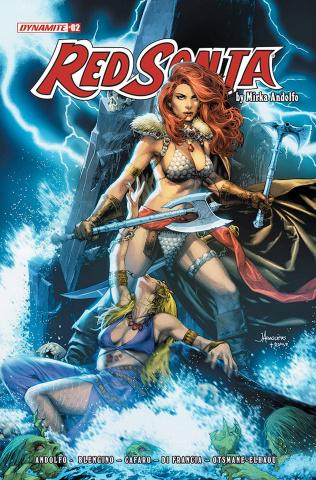 Red Sonja #2 (Anacleto Cover)