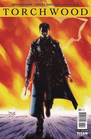 Torchwood #2 (Shedd Cover)