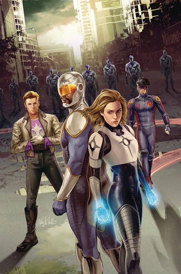 Catalyst Prime: Seven Days #1 (Sejic Cover)