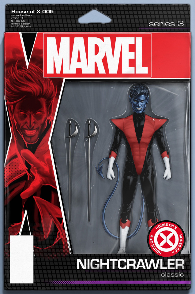 House of X #5 (Christopher Action Figure Cover)