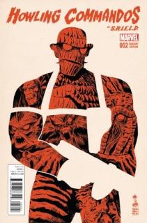 The Howling Commandos of S.H.I.E.L.D. #2 (Francavilla Cover)