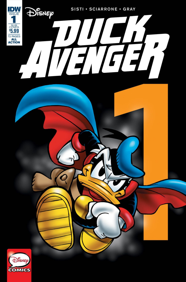 Duck Avenger #1 (Subscription Cover)