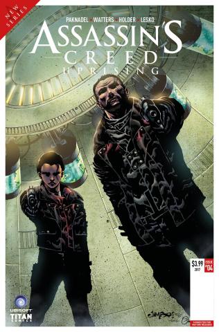 Assassin's Creed: Uprising #5 (Salgado Cover)