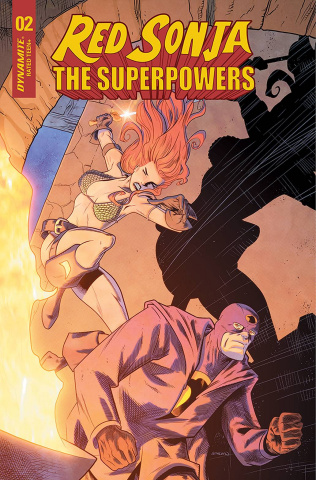 Red Sonja: The Superpowers #2 (15 Copy Ferguson Cover)