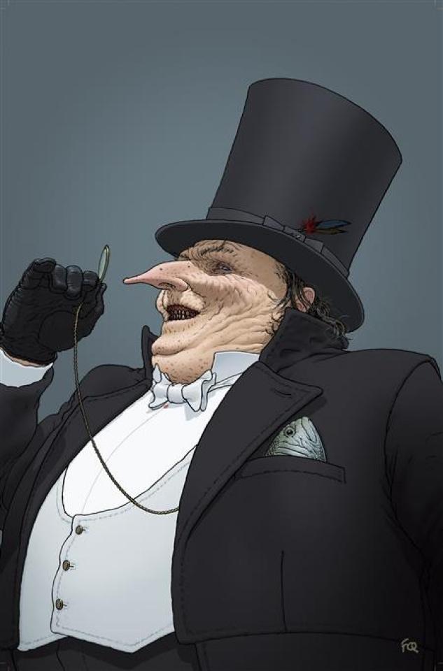 Gotham City Villains: Anniversary Giant #1 (Frank Quitely Penguin Card Stock Cover)