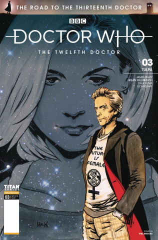 Doctor Who: The Road to the Thirteenth Doctor #3 (Hack Cover)