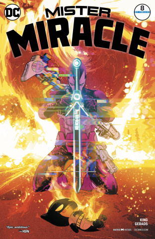 Mister Miracle #8 (Variant Cover)