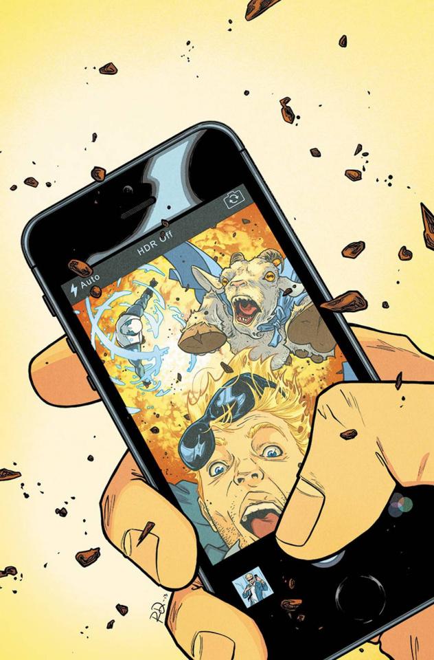Quantum & Woody #10 (Dauterman Cover)