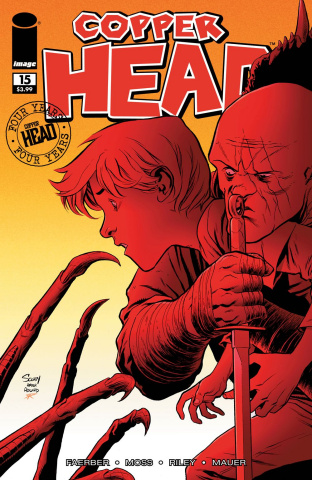 Copperhead #15 (Walking Dead #58 Tribute Cover)