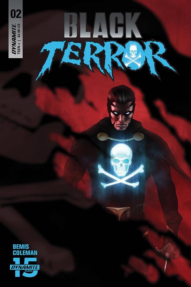 Black Terror #2 (Rahzzah Cover)