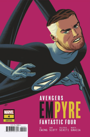 Empyre #4 (Michael Cho FF Cover)