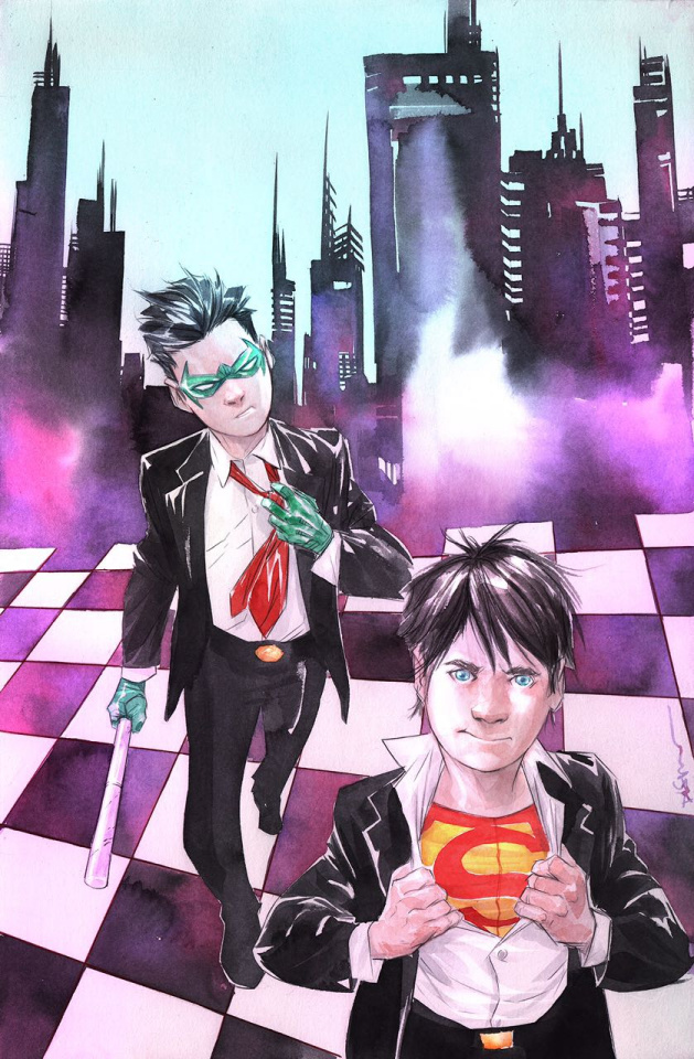 Super Sons #8 (Variant Cover)