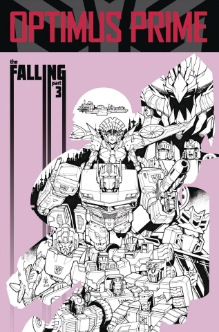 Optimus Prime #17 (Coller Cover)