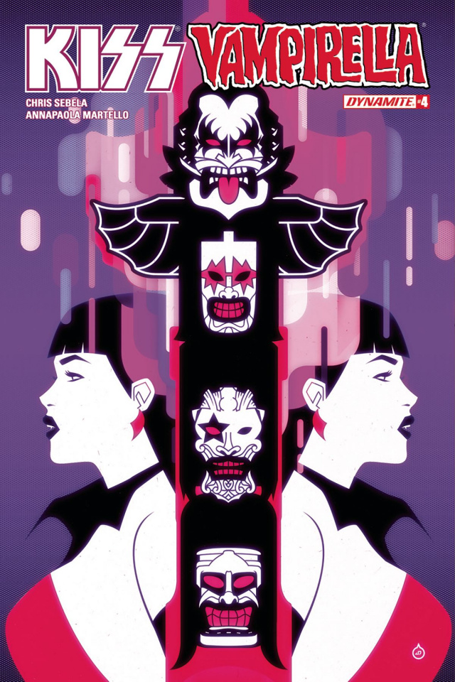 KISS / Vampirella #4 (Doe Cover)