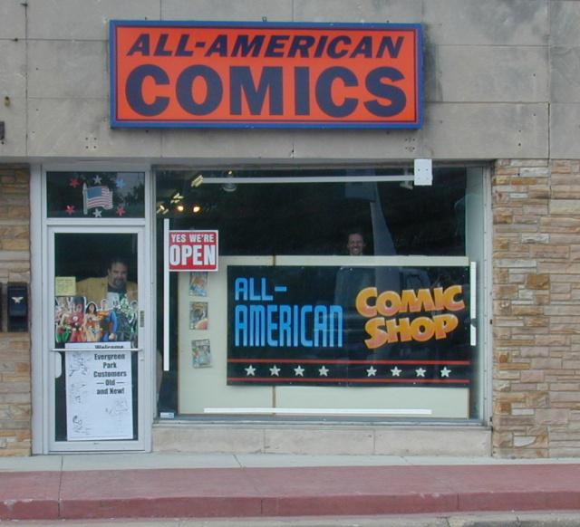 All American Comic Shops