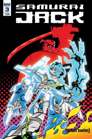 Samurai Jack: Quantum Jack #3 (Oeming Cover)
