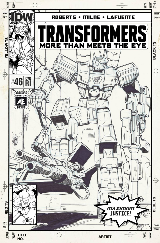 The Transformers: More Than Meets the Eye #46 (10 Copy Cover)