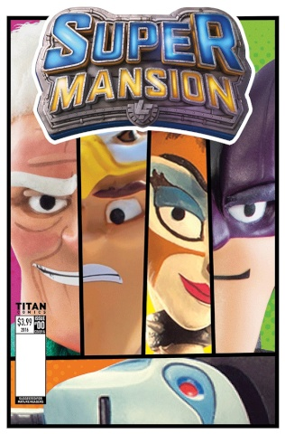 Supermansion #2 (Simmonds-Hurn Cover)
