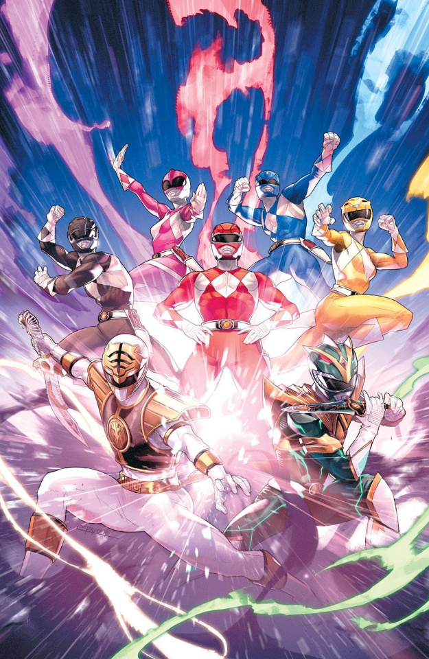 Mighty Morphin' Power Rangers #55 (25 Copy Campbell Cover)