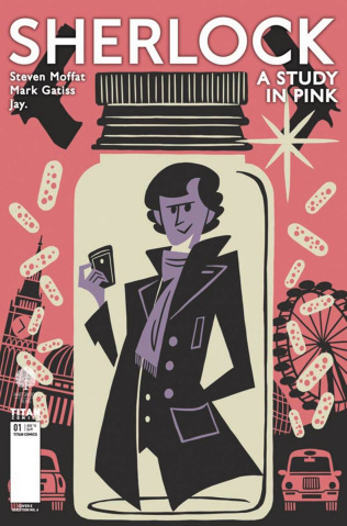 Sherlock: A Study in Pink #1 (Question 6 Cover)
