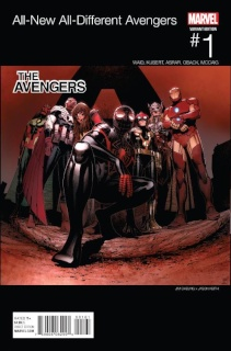 All-New All-Different Avengers #1 (Cheung Hip Hop Cover)