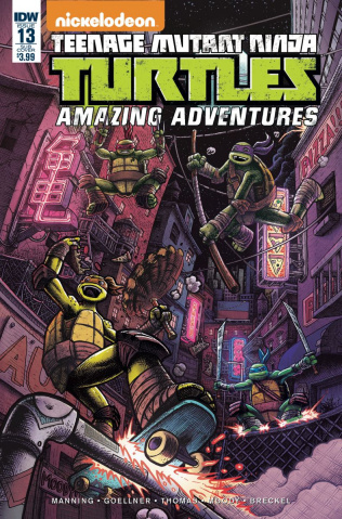Teenage Mutant Ninja Turtles: Amazing Adventures #13 (Subscription Cover)