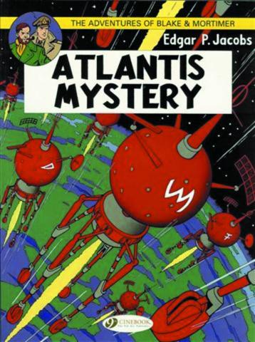 The Adventures of Blake & Mortimer Vol. 12: Atlantis Mystery