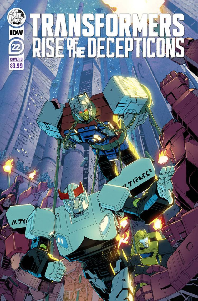 The Transformers #22 (Griffith Cover)