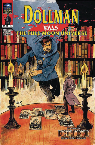 Dollman Kills the Full Moon Universe #3 (Hack Cover)