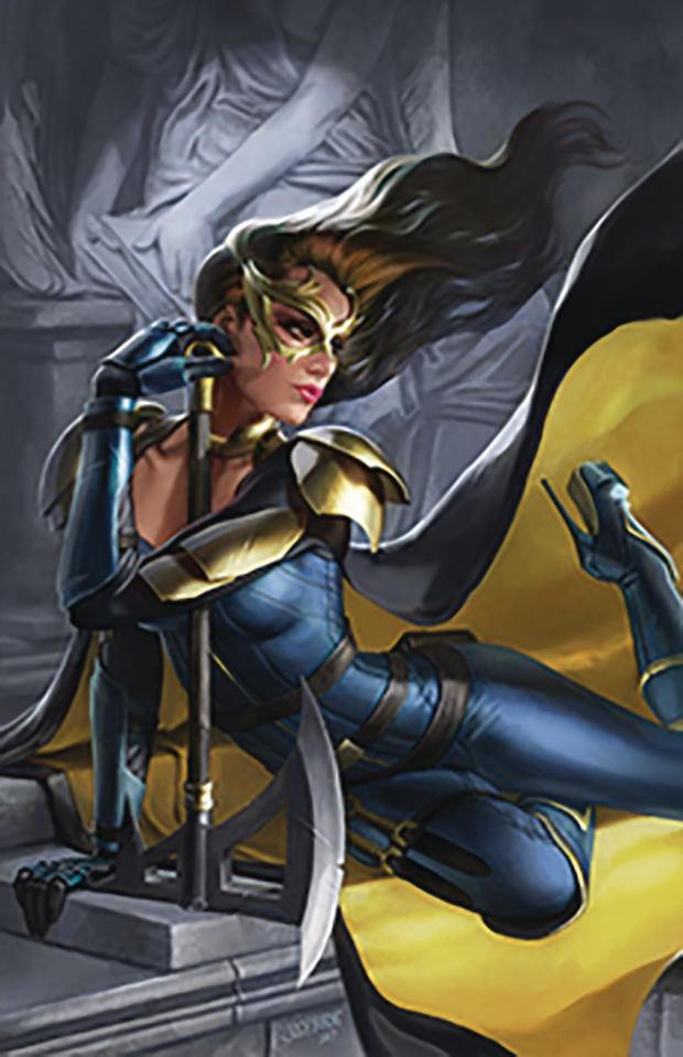 Belle: Beast Hunter #3 (Burns Cover)