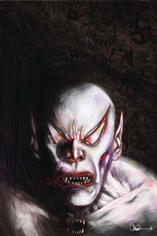 Vampire State Building #3 (Adlard Vampire God Cover)