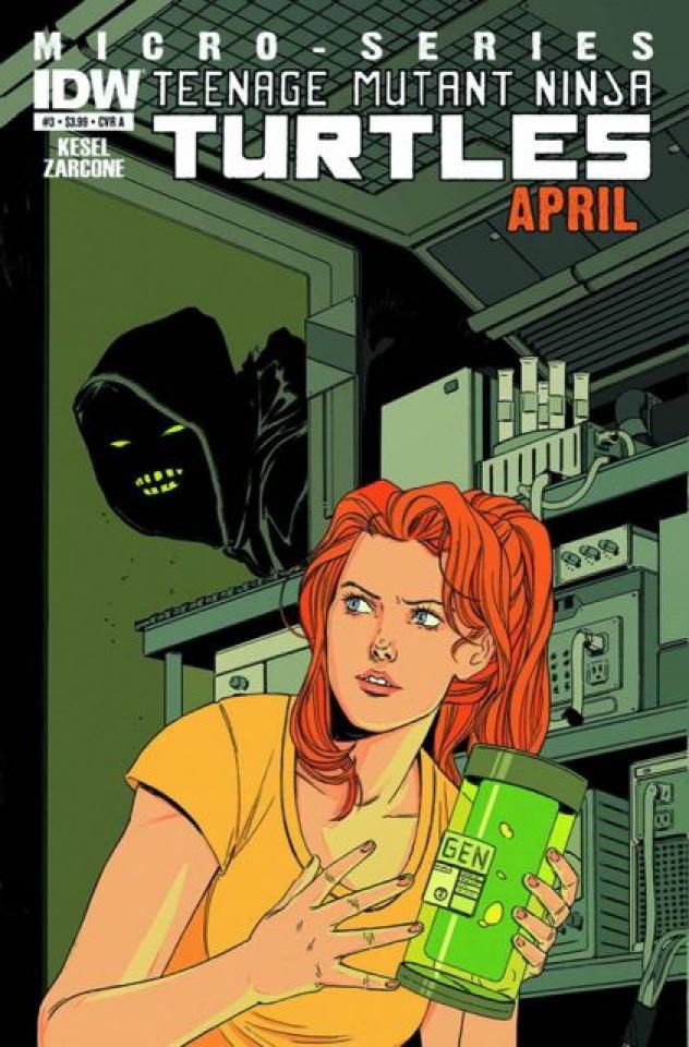 Teenage Mutant Ninja Turtles Micro-Series #7: April