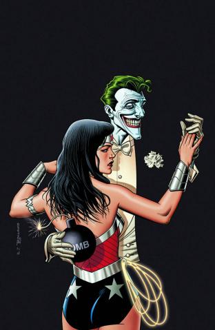 Wonder Woman #41 (The Joker Variant)