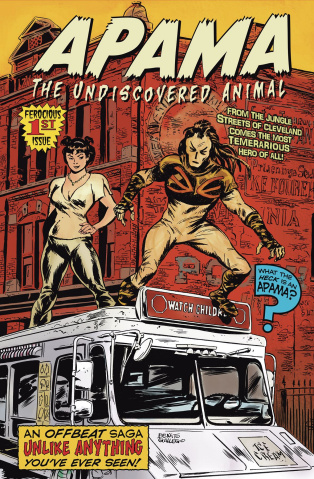 Apama: The Undiscovered Animal #1