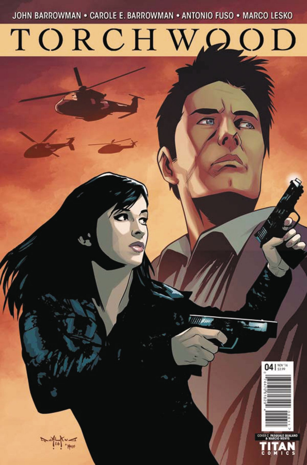 Torchwood #4 (Qualano Cover)
