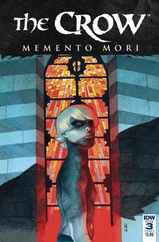 The Crow: Memento Mori #3 (Dell'Edera Cover)