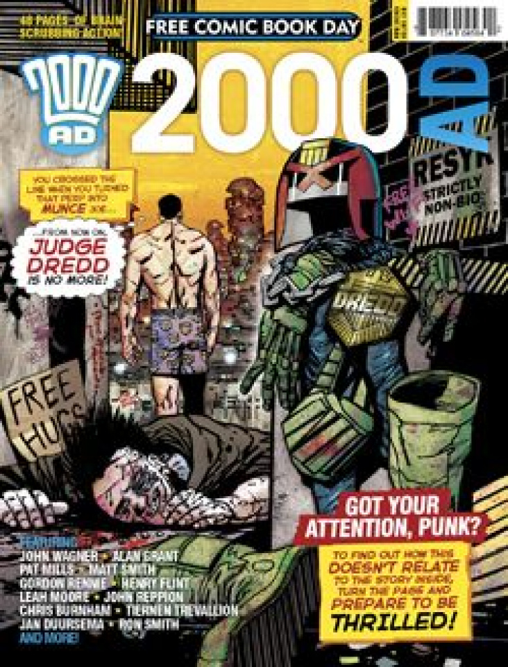 2000 AD (Free Comic Book Day 2014)