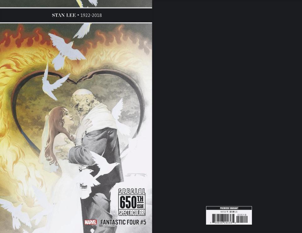Fantastic Four #5 (Ribic Cover)