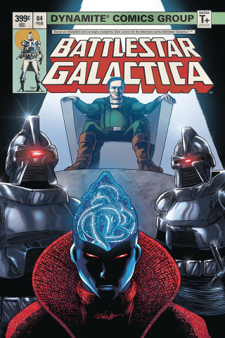 Battlestar Galactica Classic #4 (HDR Cover)