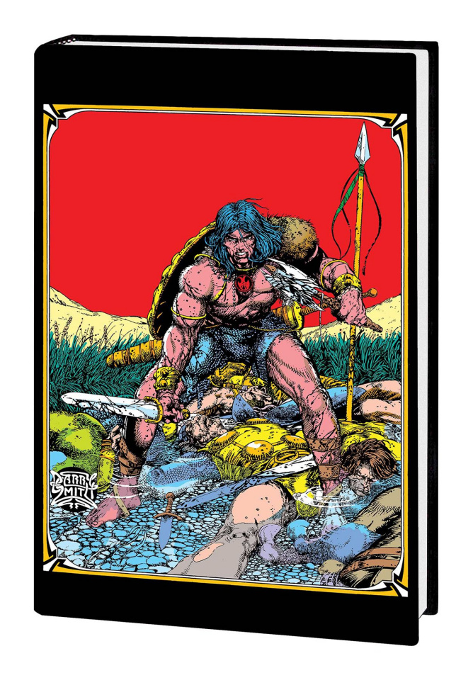 The Marvel Art of Conan the Barbarian