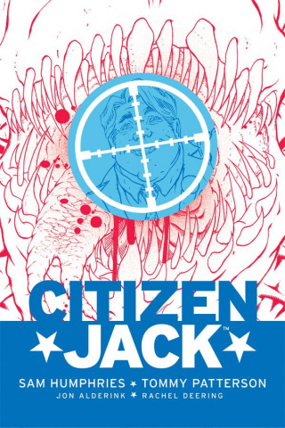 Citizen Jack #2 (Patterson Cover)