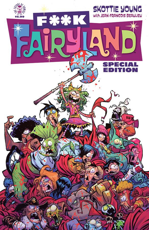 I Hate Fairyland Special Edition (F*CK (Uncensored) Image Cover)