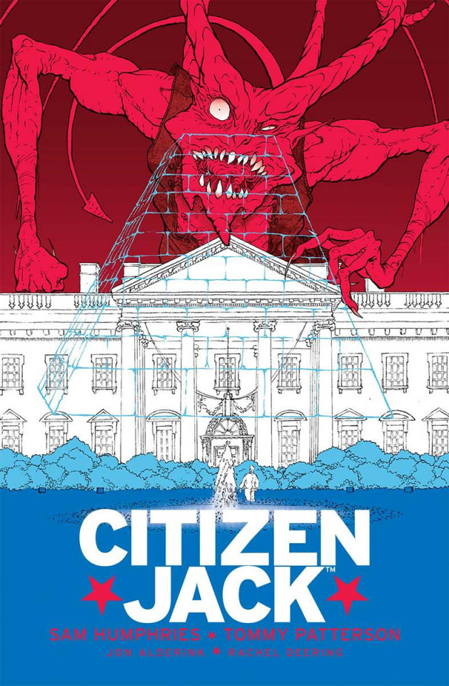 Citizen Jack #6 (Patterson & Todd Cover)