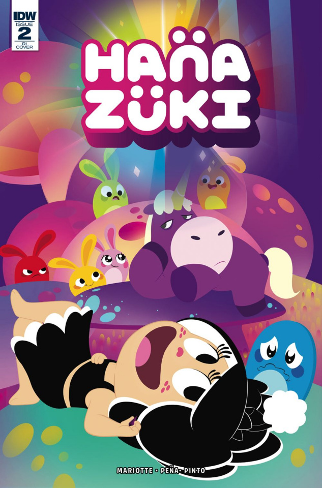 Hanazuki: Full of Treasures #2 (10 Copy Cover)